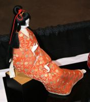 Asian Festival 4 Japanese Doll by Falln-Stock