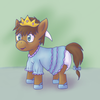Commission: Princess Sparkles by Hira-Dontell