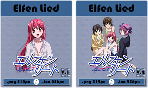 Anime - Elfen Lied - Icon by skywind08
