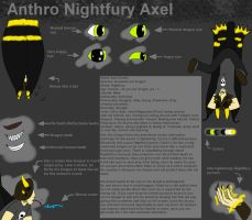 Ref - Anthro Nightfury Axel by TwilightDragon0