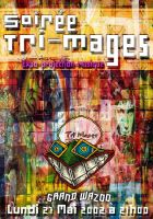 Flyer fo the Tri-mages Night by chp
