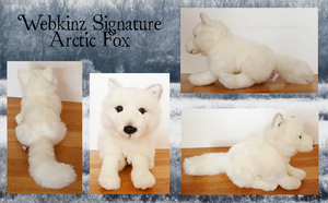 Webkinz Signature Arctic Fox by MustLoveTrees