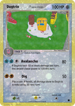 Dugtrio Ice Delta Card by Axel-Comics