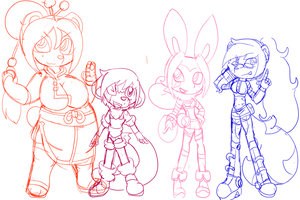 Group Pic wip by queenmafdet