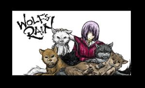 Wolf's Rain by kidbrainer