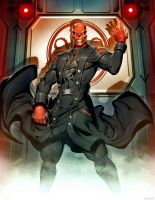 Red Skull by GENZOMAN