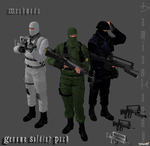 Genome Soldier Pack by DamianHandy