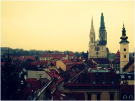 Scenic lookout, Zagreb by SeiMissTake