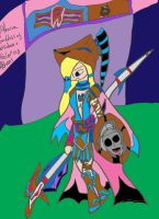Athena: War Painting: Coloured by xxxBrokenSoulxxx