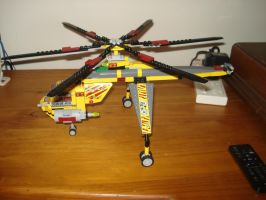 lego copter transport by adamspong2014