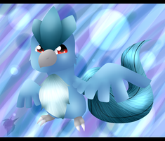 Chibi Articuno by WinterTheDragoness