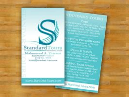 Standard Tours Business Card by XtrDesign