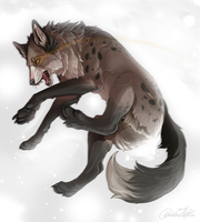 Jump in the blizzard by FrayedEntity
