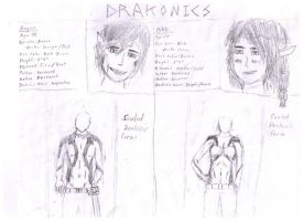 Drakonics: Magen and Rikki by Visr