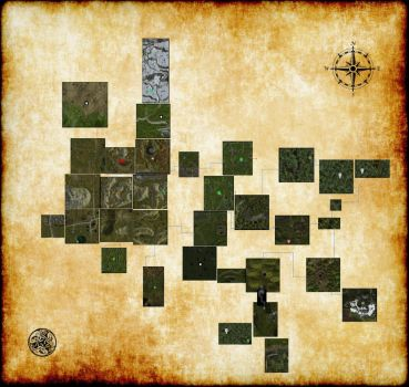 Dlb Map V1 Monsters by fatmandell