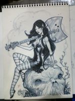 Marceline Adventure time by MichaelDooney