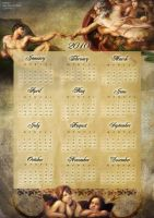 renaissance calendar by littlecherry2810