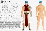 Michael Char Sheet Colored by Cranos5000