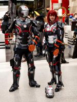 MCM Expo May 2014 94  Iron Man Mass Effect fusion by cosmicnut