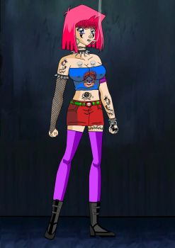 Tea as a Punk full View .2 by Duel-Monsters