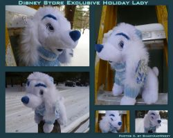 Disney Store Exclusive Holiday Lady by DoloAndElectrik