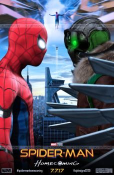 Spider-Man Homecoming | Face To Face . by ajay02