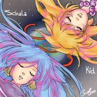 Schala Kid Song by carolriverart