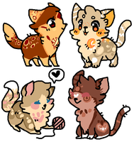 | Adoptables |(( prices has lowered,,! )) by snickIett