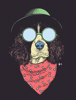 Spaniel by NickTeo