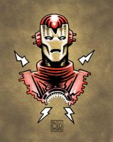 Iron Man by Rustyoldtown