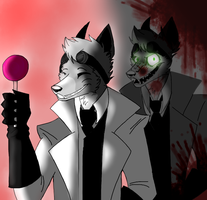 The perfect picture of a charismatic gentleman by TheBlazingFox