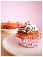 Coconut Banana Cupcake by MeYaIeM
