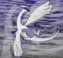 Lugia by SusantheMartian