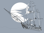 Pirate Ship 01 by iosa