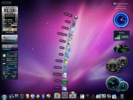 Mac OSX Theme For Windows by wallybescotty