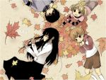 autumn leaves by KL-chan