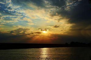 Rays of Sunset by Marilyn958