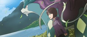 COMMISSION: With My Suicune by mark331