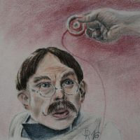 Prof. Filius  Flitwick by LoonaLucy
