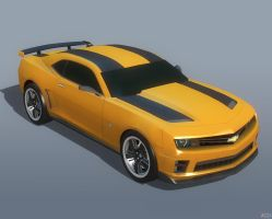 BUMBLEBEE CAR by Goreface13