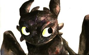 Toothless Again by Dreamsoffools