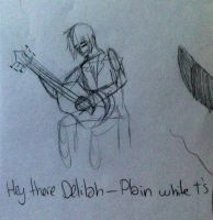 Hey there Delilah by wolf--eyes