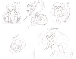 Sketches of my Aeries by Bitterlimeparakeet