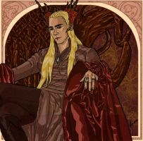 Thranduil by LauriMikko