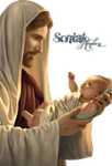 The Newborn And Christ By Sk by soniakr