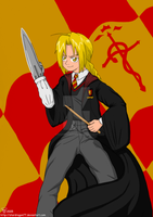 Edward Elric 4th Yr Gryffindor by StarDragon77
