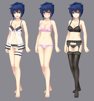 Asumi concept : Underwears by tonee89