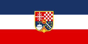 Flag Yugoslavia - state (alternate history) by YamaLama1986