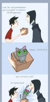Snape is no animal lover by spicysteweddemon
