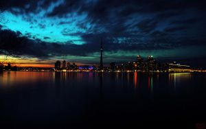 Toronto Skyline by kdabbagh